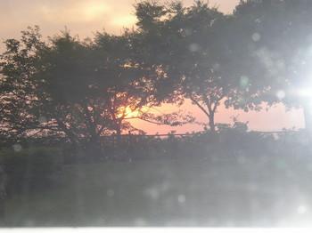 彦根の夕陽.JPG